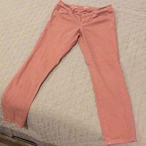 LOFT size 10 rose jeans